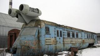 Το τρένο της σοβιετικής εποχής με μηχανές τζετ που σχεδόν «πετούσε»