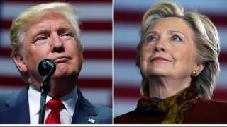 Εκλογές ΗΠΑ 2016: Η κόκκινη γραβάτα του Τραμπ και η συμβολική στιλιστική επιλογή των Κλίντον (pics)