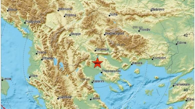 Σεισμός: 4,7 Ρίχτερ κοντά στο Κιλκίς