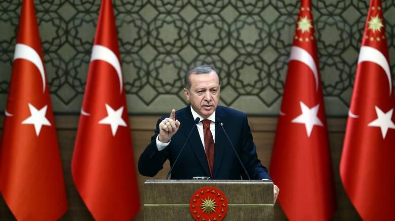 Ερντογάν: Ξαναθέτει θέμα για τα «σύνορα της καρδιάς»