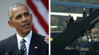 Πρόεδρος ΗΠΑ: πρώτη συνάντηση Ομπάμα - Τραμπ στο Οβάλ Γραφείο