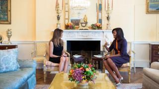 Εκλογές ΗΠΑ 2016: Το τετ α τετ της Μισέλ Ομπάμα με την Μελάνια Τραμπ