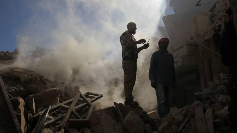 Ρωσία: Οι Σύροι αντάρτες χρησιμοποιούν χημικά όπλα στο Χαλέπι