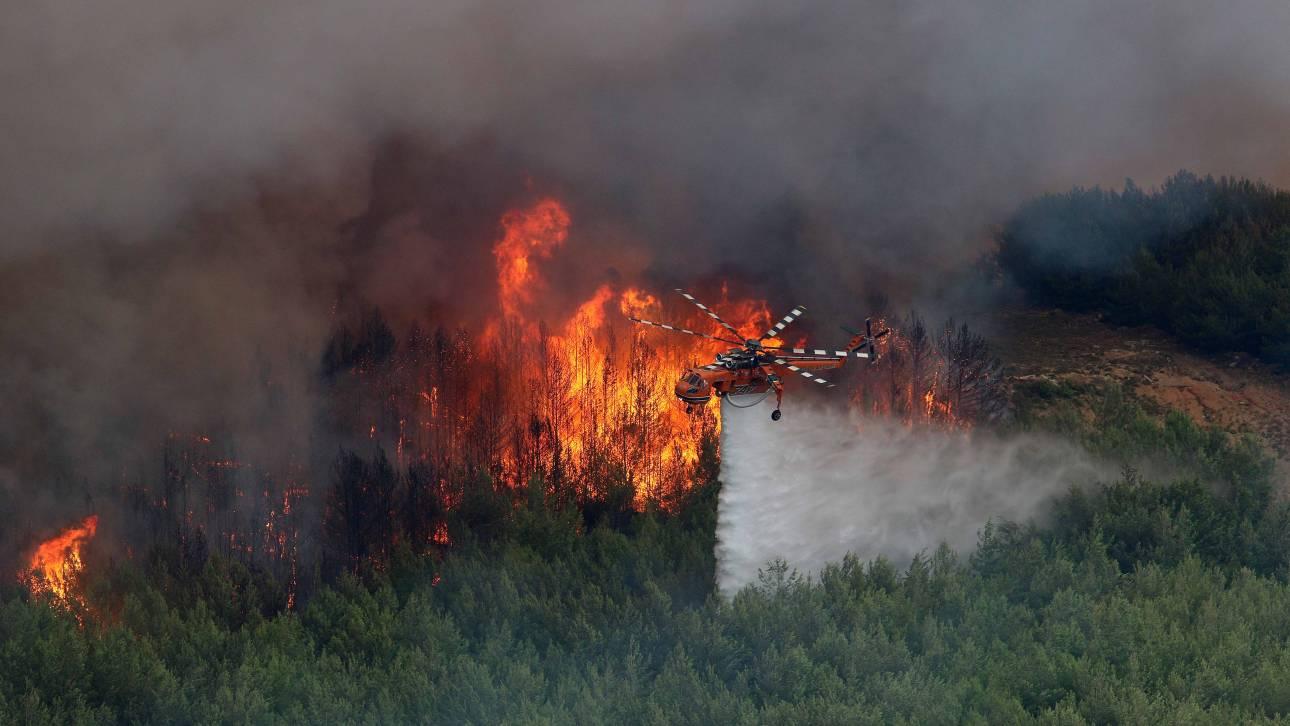 Περισσότερες πυρκαγιές, πιο πολλοί εμπρησμοί, ο απολογισμός της αντιπυρικής περιόδου 2016
