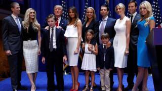 Αυτή είναι η νέα Πρώτη Οικογένεια: Γνωρίστε τους Τραμπ!