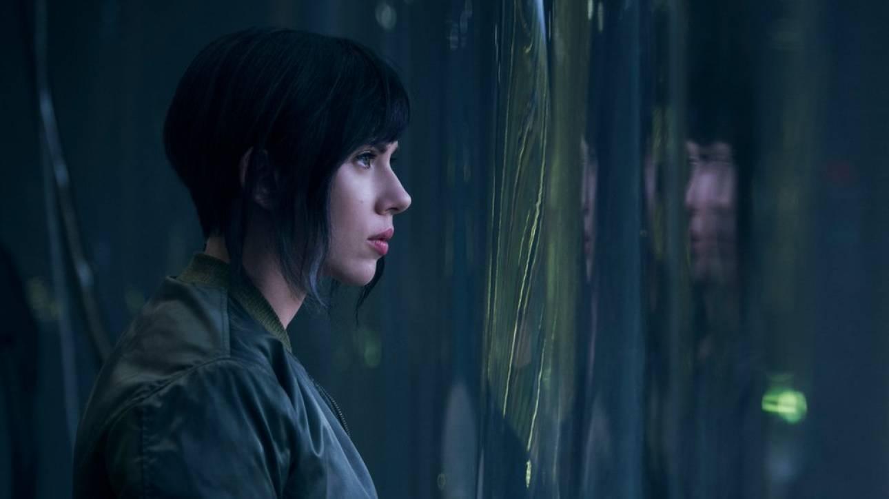 Η Σκάρλετ Γιόχανσον σε ρόλο σάιμποργκ στη νέα της ταινία! (vid & pics)