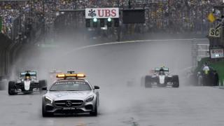 F1: συγκρούσεις στο γκραν πρι της Βραζιλίας και προσωρινή διακοπή