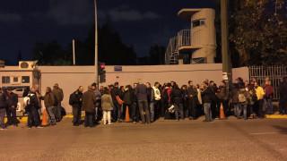 Επίσκεψη Ομπάμα: Παράσταση διαμαρτυρίας από το ΠΑΜΕ στο υπουργείο Δημόσιας Τάξης