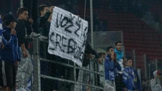 Οι Αρχές ταυτοποίησαν τον χούλιγκαν που σήκωσε το ντροπιαστικό πανό στο Ελλάδα-Βοσνία