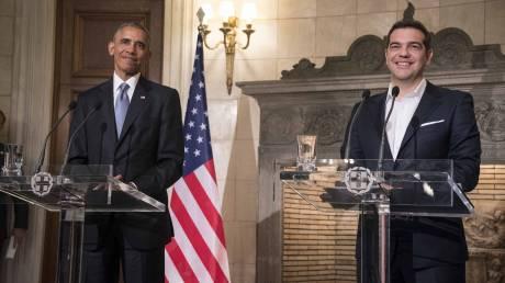 Η συνάντηση Τσίπρα - Ομπάμα σε 20 καρέ