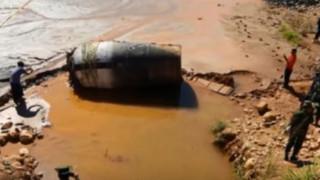Μυστηριώδες κυλινδρικό «διαστημικό σκουπίδι» έπεσε στη Μιανμάρ