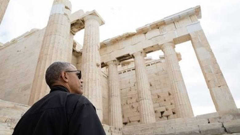 Μήνυμα Ομπάμα με φόντο τον Παρθενώνα: Το εκπληκτικό βίντεο του Λευκού Οίκου (vid)