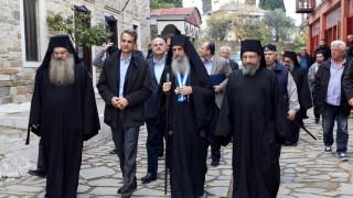 Κυρ. Μητσοτάκης: Το Άγιον Όρος αποτελεί φάρο ελπίδας για όλους τους Ορθοδόξους (pics)