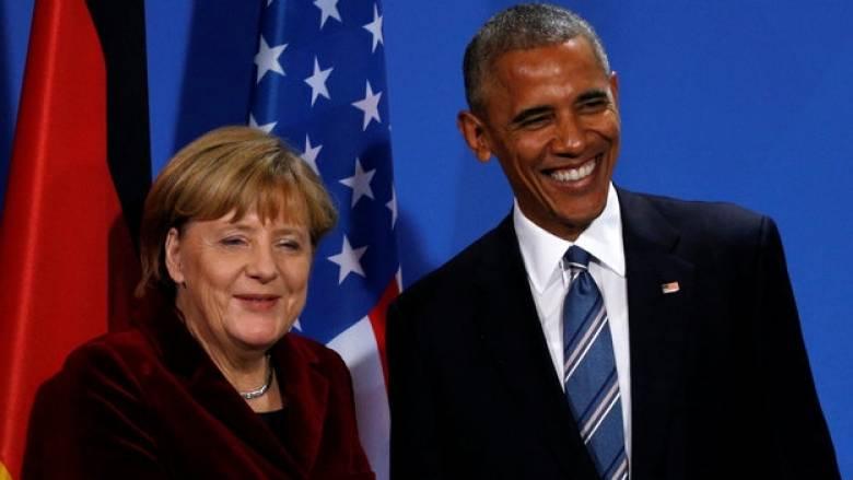 Ο Ομπάμα στην Μέρκελ: Θα επιστρέψω... για τη γιορτή της μπίρας