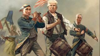 Τραμπ, Πούτιν, Φάρατζ και Λεπέν σε ένα εξώφυλλο... (pic)