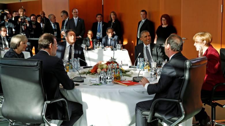 Συμφωνία Ομπάμα-Ευρωπαίων ηγετών για συνέχιση της συνεργασίας στο ΝΑΤΟ