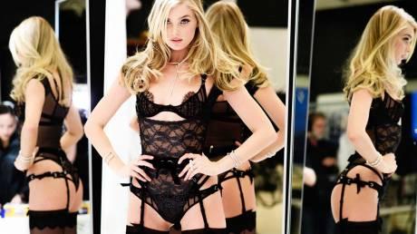 H Elsa Hosk αποπλανεί το βλέμμα στις πρόβες της Victoria's Secret