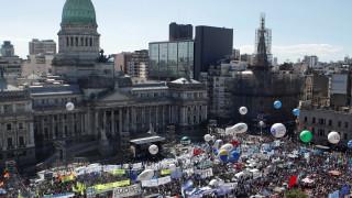 Αργεντινή: Χιλιάδες διαδηλωτές ενάντια στην φτώχεια