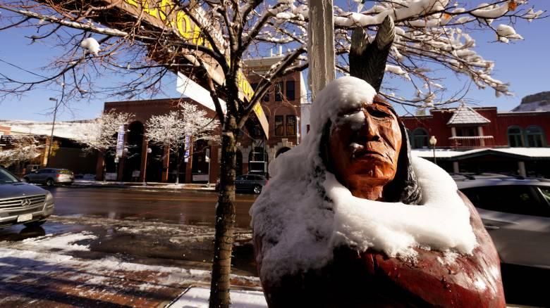 Η πρώτη μεγάλη χιονοθύελλα της χρονιάς χτυπά τις ΗΠΑ