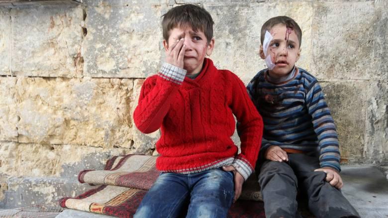 Χαλέπι: Οι σφοδρότεροι βομβαρδισμοί των τελευταίων δύο χρόνων