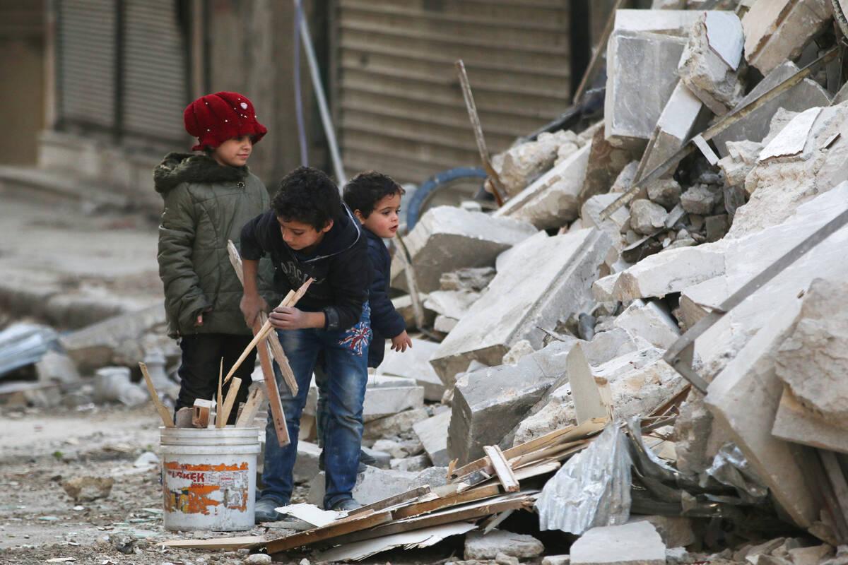 2016 11 17T133055Z 2061445147 D1BEUNIZYLAA RTRMADP 3 MIDEAST CRISIS SYRIA ALEPPO