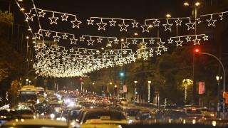 Βόλτα στη χριστουγεννιάτικη Αθήνα