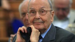 Πανελλήνια συγκίνηση για το θάνατο του Κωστή Στεφανόπουλου-Το «αντίο» των πολιτικών αρχηγών
