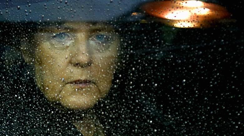 Angela Merkel car