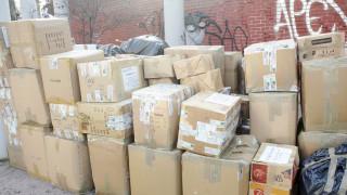 Φορτίο ανθρωπιστικής βοήθειας από τις ΗΠΑ στη Θεσσαλονίκη