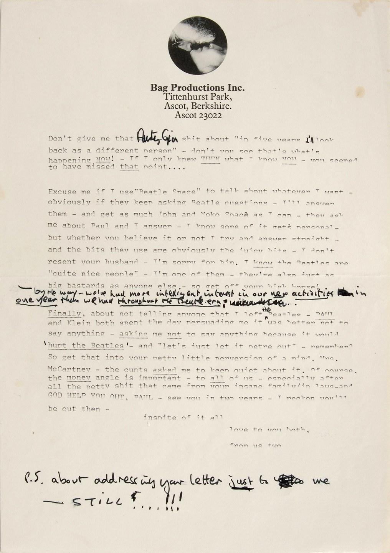 john lennon paul mccartney letter 02