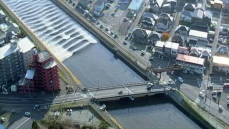 Σεισμός και τσουνάμι στην Ιαπωνία-Συναγερμός στη Φουκουσίμα