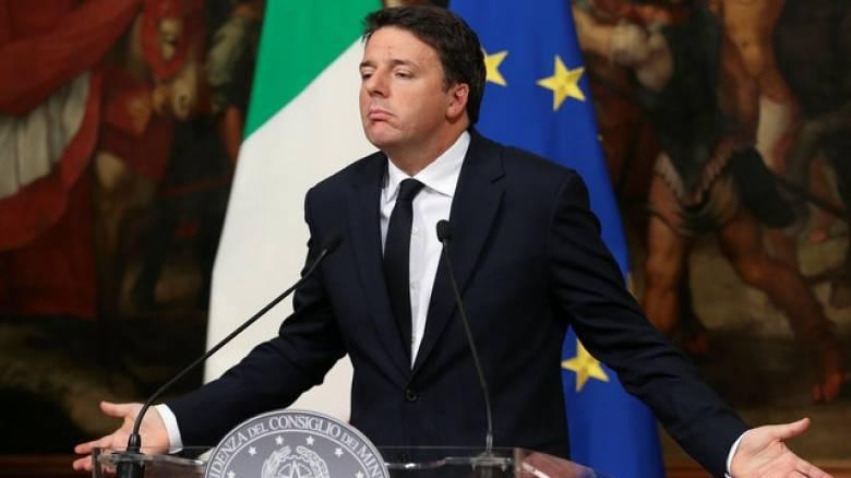 Ρέντσι: Ο προϋπολογισμός της Γερμανίας να ελέγχεται από την ΕΕ