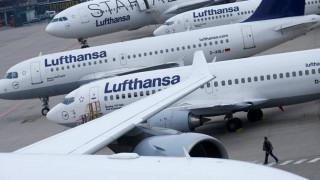 Καθηλωμένα τα αεροσκάφη της Lufthansa ως και την Πέμπτη