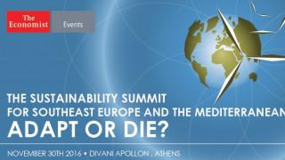 Sustainability Summit του Economist στις 30 Νοεμβρίου