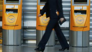Ακύρωση 830 πτήσεων της Lufthansa την Παρασκευή