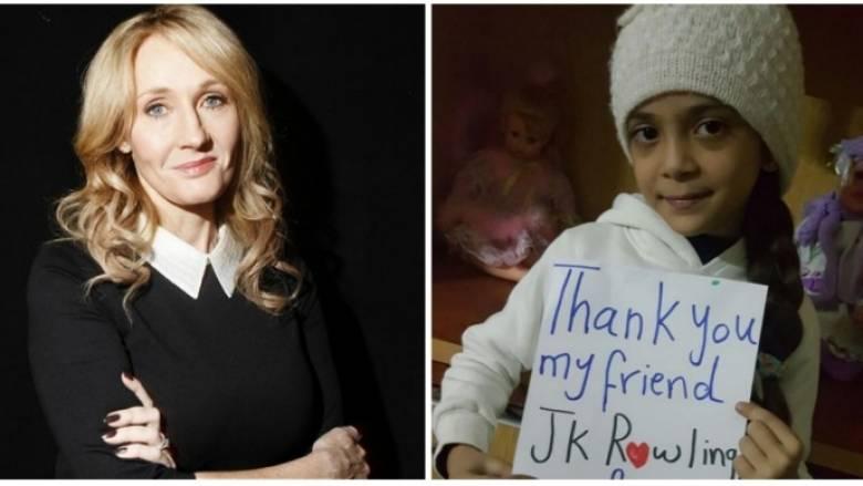 Χαλέπι: Το «ευχαριστώ» της 7χρονης στην Τζ. Κ. Ρόουλινγκ