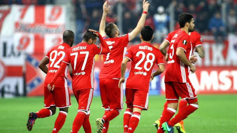 "Europa League: ""κλείδωσε"" την πρόκριση με ισοπαλία ο Ολυμπιακός, πάει στην Κύπρο για την πρωτιά"
