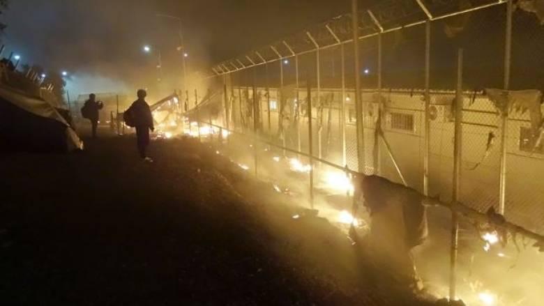 Τραγωδία στην Μυτιλήνη: Δύο νεκροί στο hot spot της Μόριας