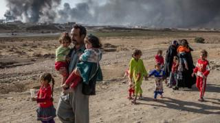 73.000 οι εκτοπισμένοι της Μοσούλης