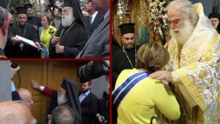 Πατριαρχική Θεία Λειτουργία στο Μετόχι του Πατριαρχείου Αλεξανδρείας στην Αθήνα