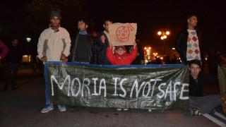 Μυτιλήνη: Μαζική συμμετοχή προσφύγων και μεταναστών σε πορεία διαμαρτυρίας για τη Μόρια