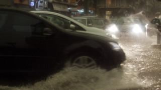 Κακοκαιρία: Σοβαρά προβλήματα από τη βροχή στην Αττική