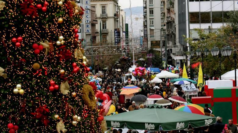 Το εορταστικό ωράριο των καταστημάτων ενόψει Χριστουγέννων