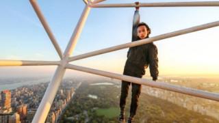Παράτολμος 18χρονος σκαρφαλώνει σε ουρανοξύστες και σοκάρει (vid&pics)