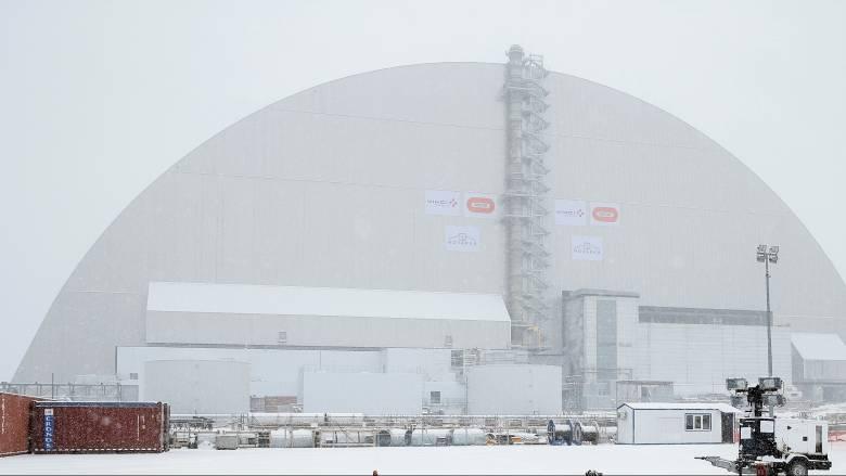 Τσέρνομπιλ: Μεταλλική «ασπίδα» στον κατεστραμμένο πυρηνικό αντιδραστήρα