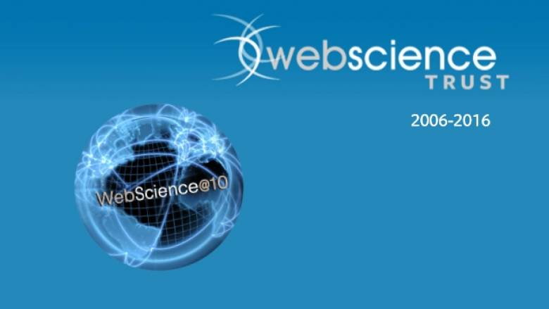 Δέκα χρόνια Επιστήμης του Internet