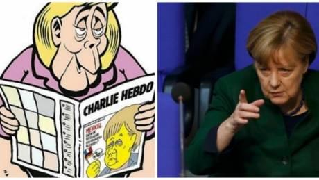 Προκαλεί με Μέρκελ το γερμανικό Charlie Hebdo