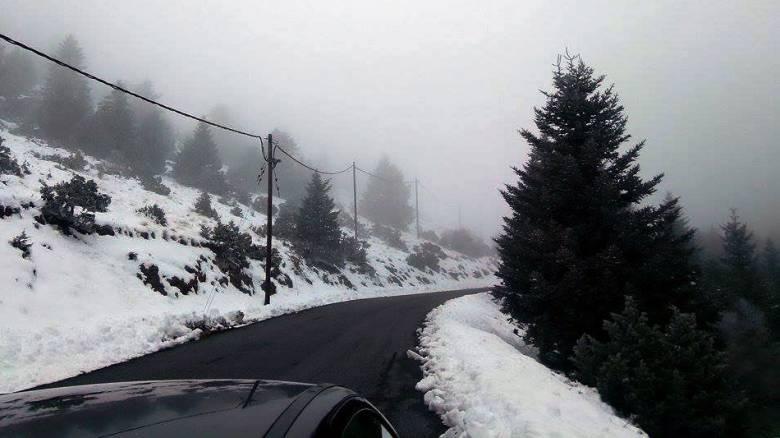 Καιρός: Χιόνια και χαμηλές θερμοκρασίες