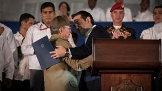 Τσίπρας στην Κούβα: Μεγάλη τιμή η συμμετοχή μου σε μία τόσο ιστορική στιγμή (pics)