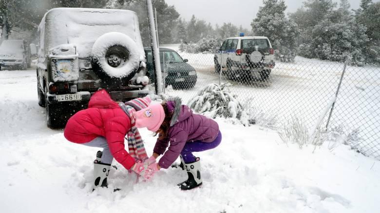 Κλειστά σχολεία λόγω του χιονιά σε δυτική Μακεδονία, Έβρο και Τρίκαλα